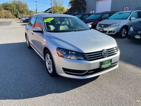 2014 Volkswagen Passat for sale at Vermont Auto Service in South Burlington VT