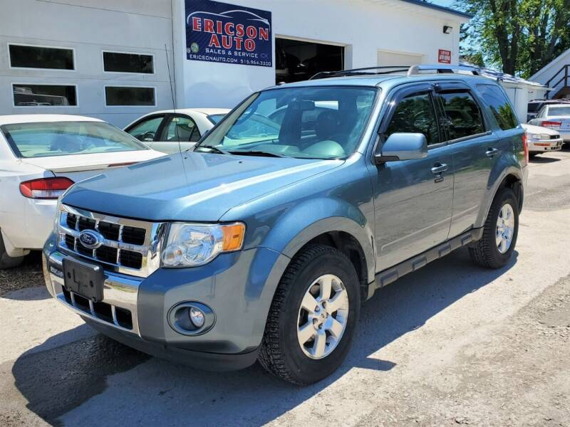 2011 Ford Escape for sale at Ericson Auto in Ankeny IA