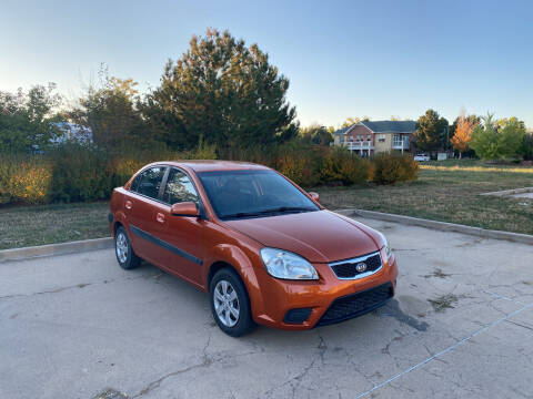 2008 Kia Rio for sale at QUEST MOTORS in Englewood CO