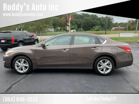 2013 Nissan Altima for sale at Buddy's Auto Inc in Pendleton, SC