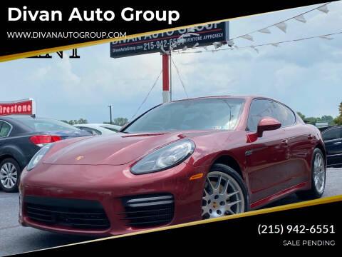 2015 Porsche Panamera for sale at Divan Auto Group in Feasterville Trevose PA