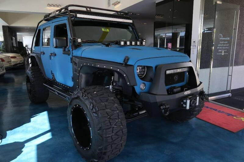 2016 Jeep Wrangler Unlimited for sale at OC Autosource in Costa Mesa CA