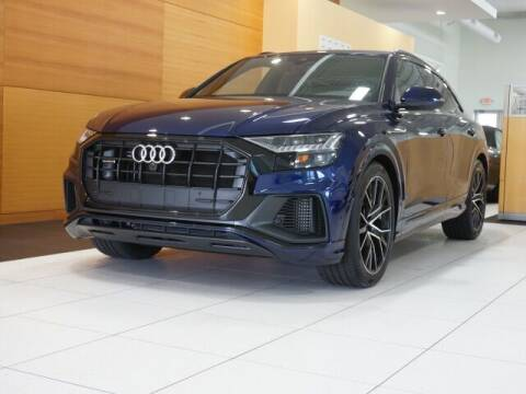 2020 Audi Q8 for sale at PORSCHE OF NORTH OLMSTED in North Olmsted OH