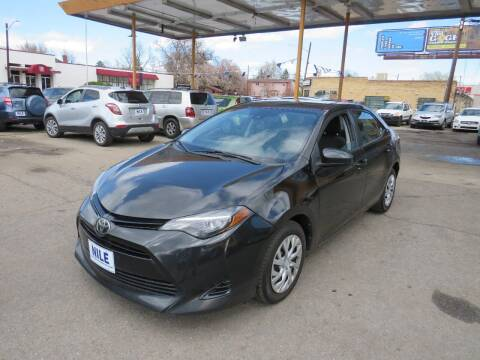 2017 Toyota Corolla for sale at Nile Auto Sales in Denver CO