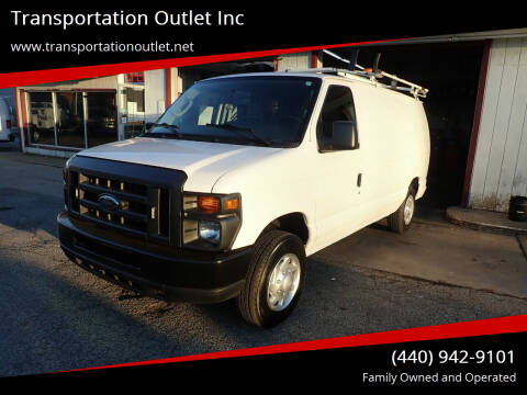 2012 Ford E-Series Cargo for sale at Transportation Outlet Inc in Eastlake OH