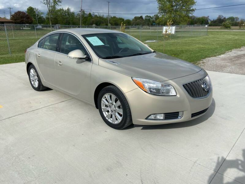 2012 Buick Regal for sale at The Auto Depot in Mount Morris MI