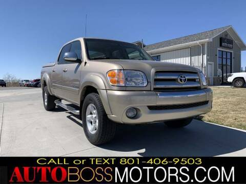 2006 Toyota Tundra for sale at Auto Boss in Woodscross UT