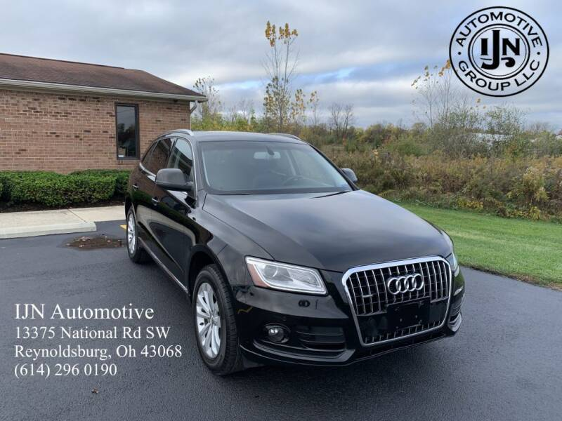 2014 Audi Q5 for sale at IJN Automotive Group LLC in Reynoldsburg OH