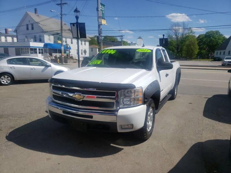 2011 Chevrolet Silverado 1500 for sale at TC Auto Repair and Sales Inc in Abington MA