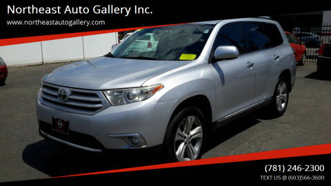 2012 Toyota Highlander for sale at Northeast Auto Gallery Inc. in Wakefield Ma MA