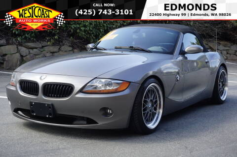 2003 BMW Z4 for sale at West Coast Auto Works in Edmonds WA