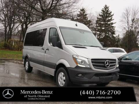 2018 Mercedes-Benz Sprinter Passenger for sale at Mercedes-Benz of North Olmsted in North Olmstead OH