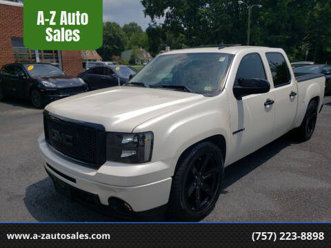2011 GMC Sierra 1500 for sale at A-Z Auto Sales in Newport News VA