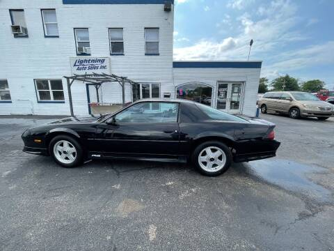 1991 Chevrolet Camaro for sale at Lightning Auto Sales in Springfield IL
