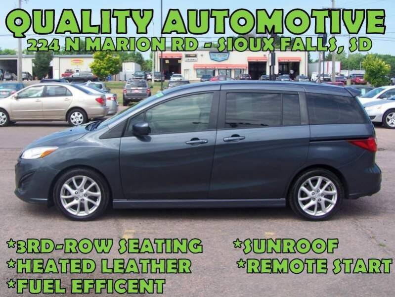 2012 Mazda MAZDA5 for sale at Quality Automotive in Sioux Falls SD