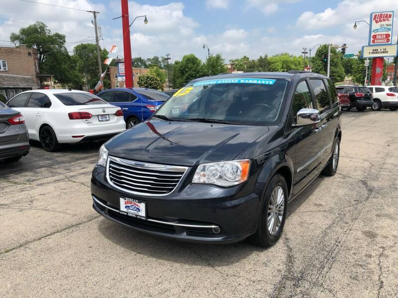 2013 Chrysler Town and Country for sale at Bibian Brothers Auto Sales & Service in Joliet IL