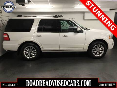 2015 Ford Expedition for sale at Road Ready Used Cars in Ansonia CT