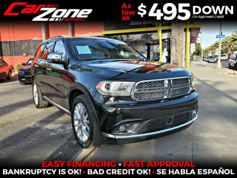 2014 Dodge Durango for sale at Carzone Automall in South Gate CA
