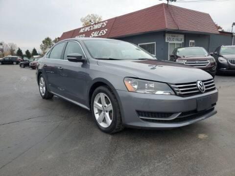 2013 Volkswagen Passat for sale at Newcombs Auto Sales in Auburn Hills MI