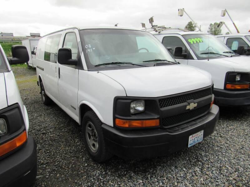 2003 Chevrolet Express Cargo 2500 3dr Van - Algona WA