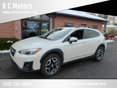 2018 Subaru Crosstrek for sale at R C Motors in Lunenburg MA