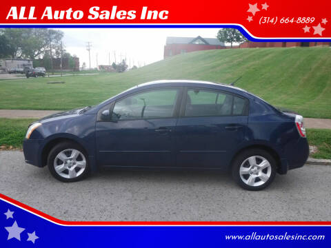 2009 Nissan Sentra for sale at ALL Auto Sales Inc in Saint Louis MO