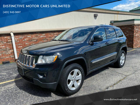 2012 Jeep Grand Cherokee for sale at DISTINCTIVE MOTOR CARS UNLIMITED in Johnston RI