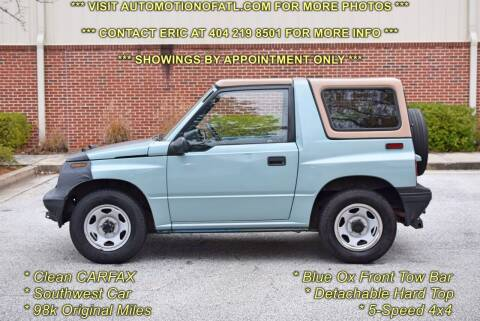1995 GEO Tracker for sale at Automotion Of Atlanta in Conyers GA