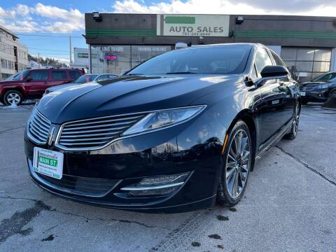 2016 Lincoln MKZ for sale at Wakefield Auto Sales of Main Street Inc. in Wakefield MA