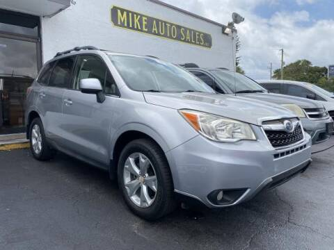 2014 Subaru Forester for sale at Mike Auto Sales in West Palm Beach FL
