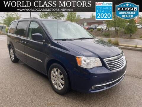 2016 Chrysler Town and Country for sale at World Class Motors LLC in Noblesville IN