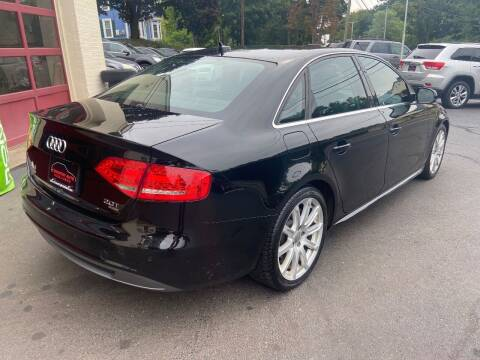 2012 Audi A4 for sale at COVENTRY AUTO SALES in Coventry CT
