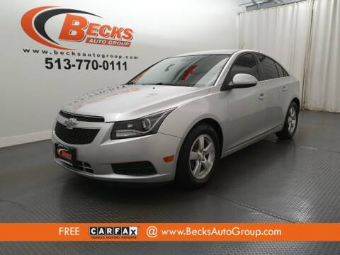 2013 Chevrolet Cruze for sale at Becks Auto Group in Mason OH