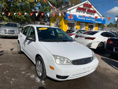 2007 Ford Focus for sale at C & M Auto Sales in Detroit MI