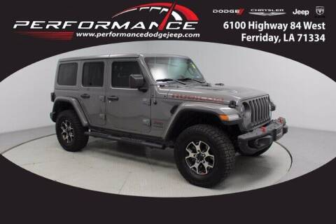 2019 Jeep Wrangler Unlimited for sale at Auto Group South - Performance Dodge Chrysler Jeep in Ferriday LA