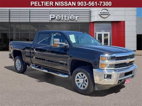 2016 Chevrolet Silverado 2500HD for sale at TEX TYLER Autos Cars Trucks SUV Sales in Tyler TX