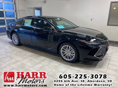 2021 Toyota Avalon for sale at Harr's Redfield Ford in Redfield SD
