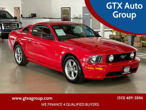 2005 Ford Mustang for sale at GTX Auto Group in West Chester OH