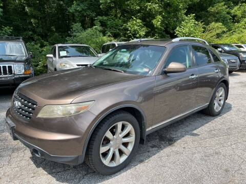 2006 Infiniti FX35 for sale at Car Online in Roswell GA