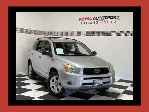 2006 Toyota RAV4 for sale at Royal AutoSport in Sacramento CA