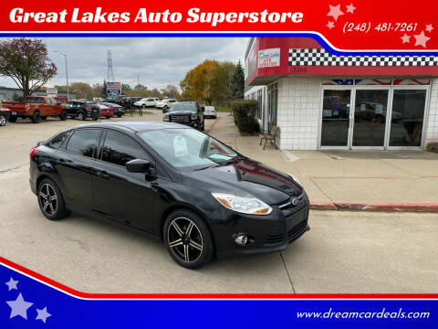 2012 Ford Focus for sale at Great Lakes Auto Superstore in Pontiac MI