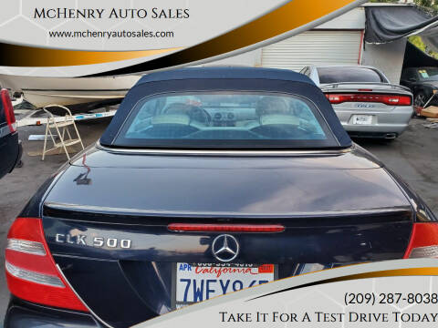 2005 Mercedes-Benz CLK for sale at MCHENRY AUTO SALES in Modesto CA