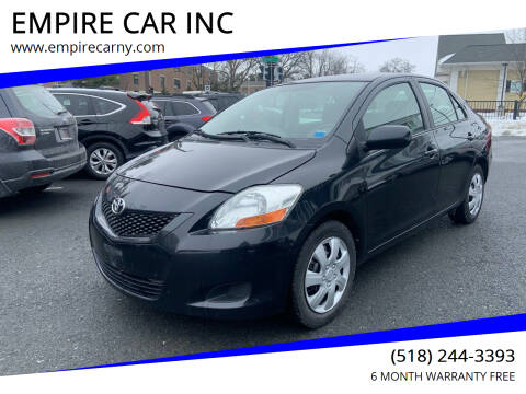 2010 Toyota Yaris for sale at EMPIRE CAR INC in Troy NY