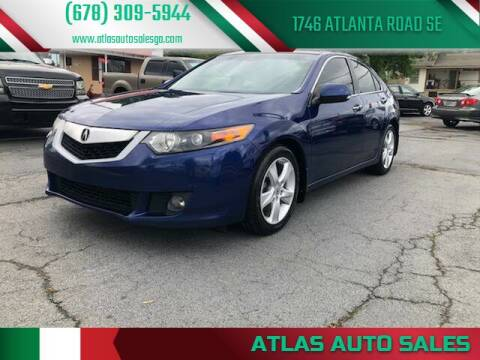 2009 Acura TSX for sale at Atlas Auto Sales in Smyrna GA