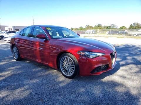 2018 Alfa Romeo Giulia for sale at GATOR'S IMPORT SUPERSTORE in Melbourne FL