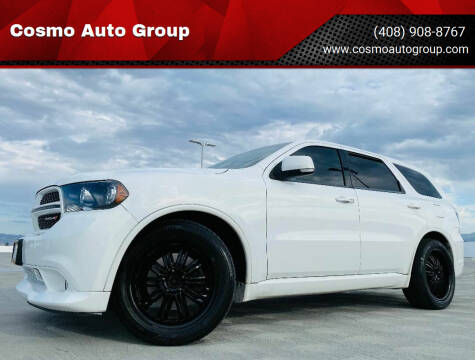 2013 Dodge Durango for sale at Cosmo Auto Group in San Jose CA