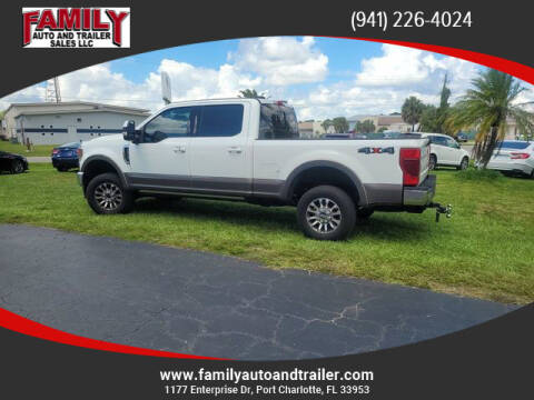 2022 Ford F-350 Super Duty for sale at Family Auto and Trailer Sales LLC in Port Charlotte FL