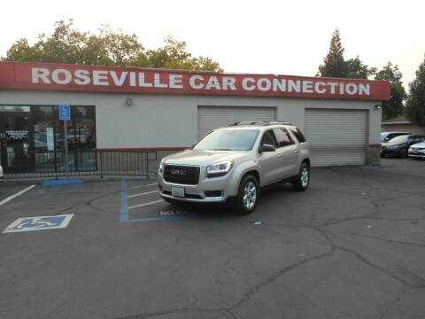2014 GMC Acadia for sale at ROSEVILLE CAR CONNECTION in Roseville CA