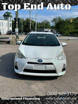 2013 Toyota Prius c for sale at Top End Auto in North Attleboro MA