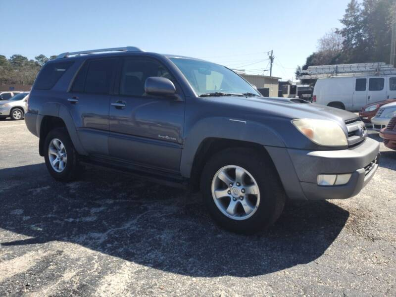2003 Toyota 4Runner for sale at Ron's Used Cars in Sumter SC